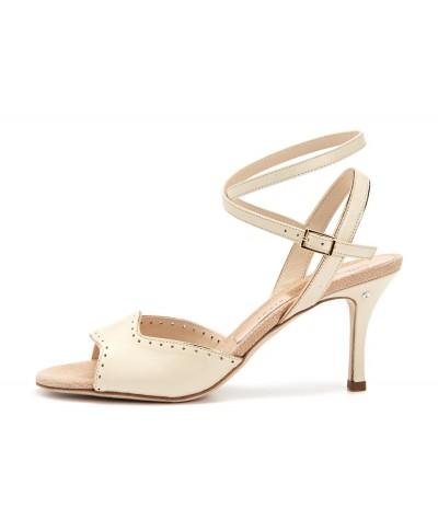 CARRIE Cream leather