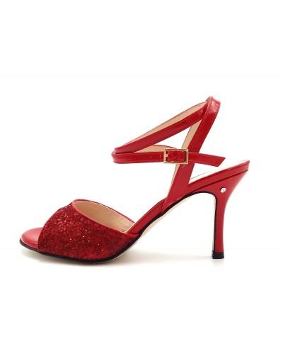 CHERIE Red glitter
