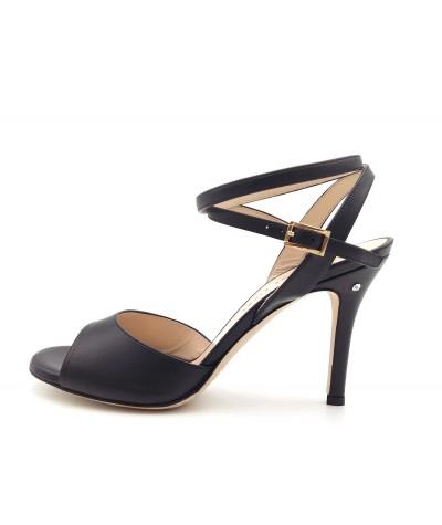 CHERIE Black leather