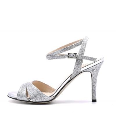 VIRGINIA Silver glitter