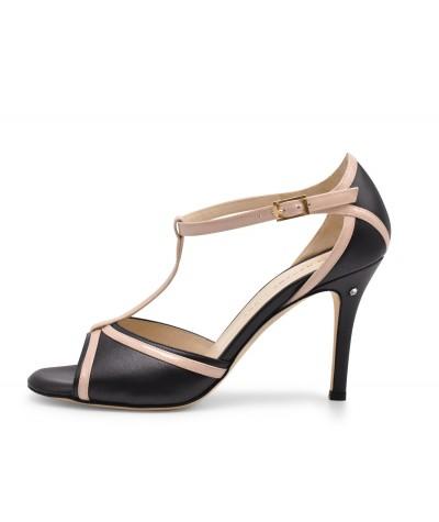 OLIVIA Black Leather and...
