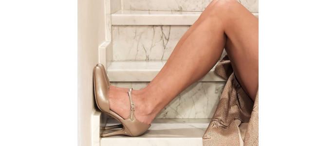 Décolletés and closed toe sandals